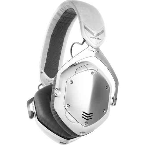 V-Moda Crossfade Wireless White Silver XFBT-SV