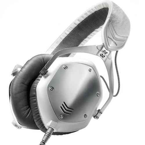 V-Moda Crossfade M100 White Silver M-100-U-SV