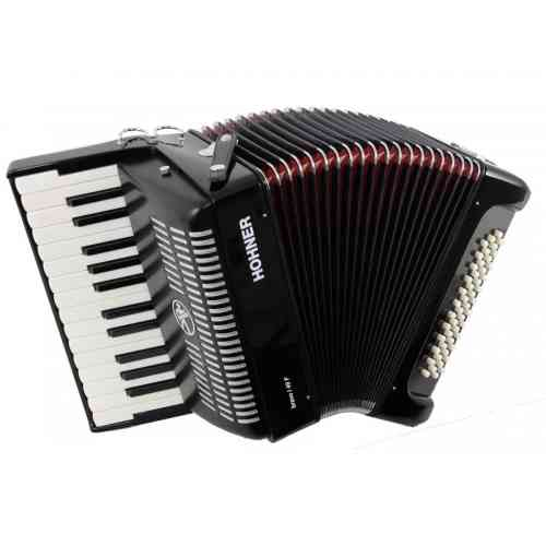 Hohner The New Bravo I 49 F black (A40461)