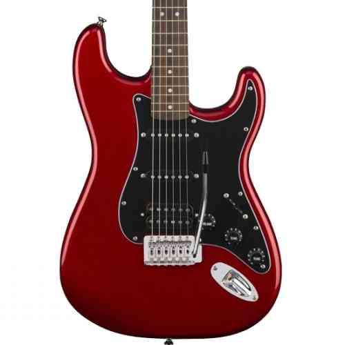 Fender Affinity Series Stratocaster® HSS Pack, Laurel Fingerboard Candy Apple Red, Gig Bag