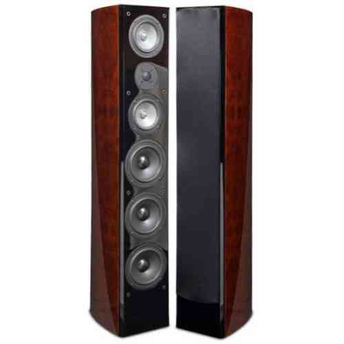 RBH R55TiR Tower/Front Speaker Red Burl