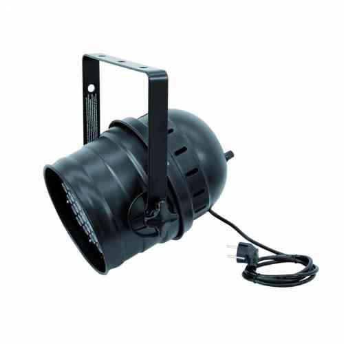 Eurolite LED PAR-64 RGB 36x3W Short black