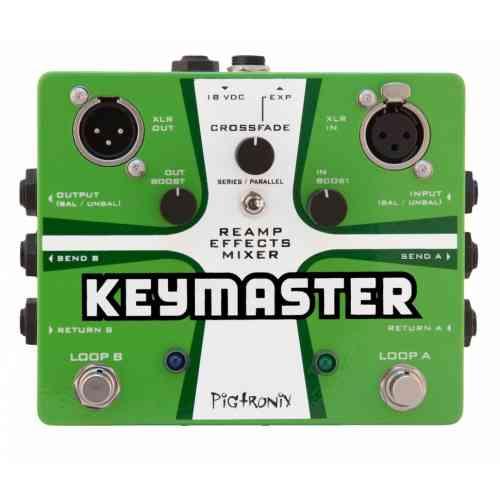 Pigtronix REM Keymaster, Reamp Effects Mixer