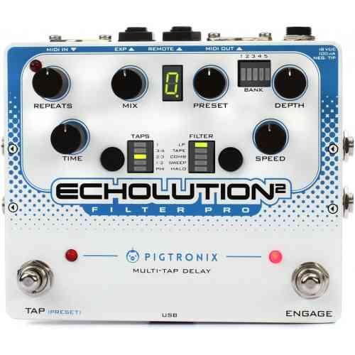 Pigtronix E2F Echolution 2 Filter Pro Delay