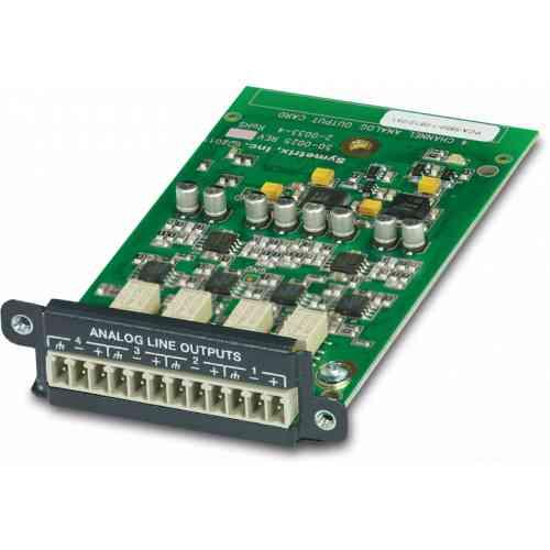 Symetrix 4 Channel Analog Output Card