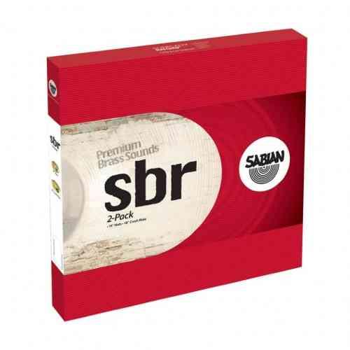 Комплект тарелок для ударных Sabian SBR 14/18 2-Pack Set #1 - фото 1