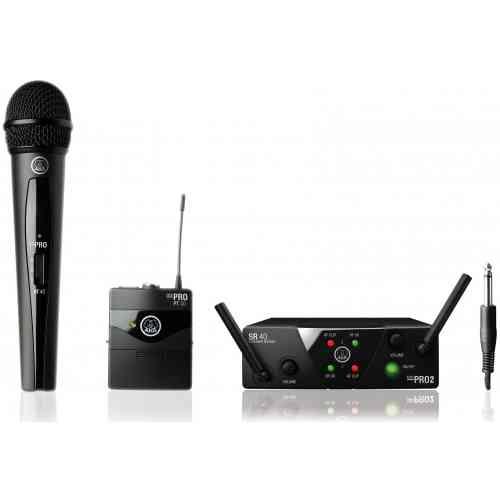 AKG WMS40 Mini2 Mix Set US45AC (660.7/662.3МГц)