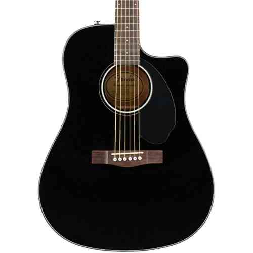 Fender CD-60SCE Dread Black WN