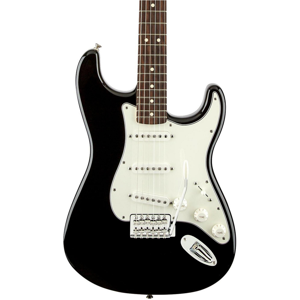 Fender Standard Stratocaster RW Black Tint - фото 1