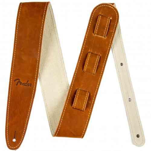 Fender Ball Glove Leather Strap Brown