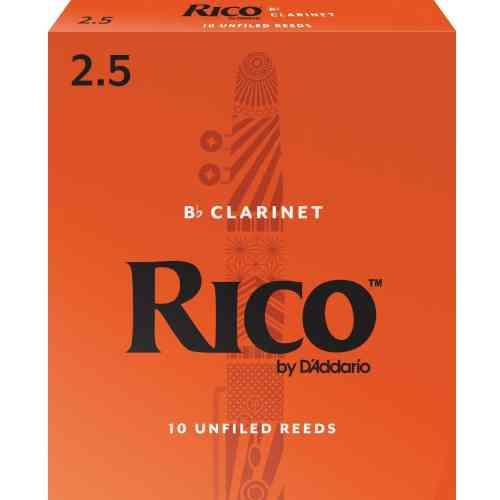 D`Addario RCA1025 RICO, BB CLAR, #2.5, 10 BX