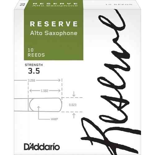 D`Addario WOODWINDS DJR1035 RESERVE ASX- 10 PACK - 3.5