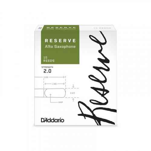 D`Addario WOODWINDS DJR1020 RESERVE ASX- 10 PACK - 2.0