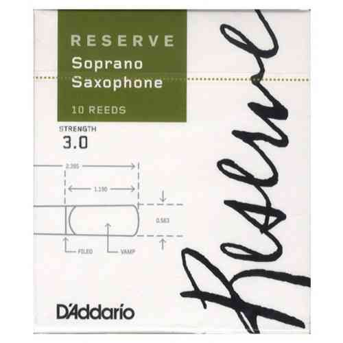D`Addario WOODWINDS DIR1030 RESERVE SSX - 10 PACK - 3.0