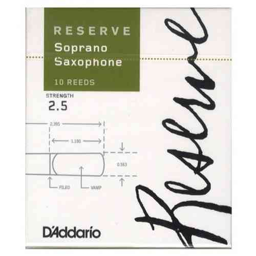 D`Addario WOODWINDS DIR1025 RESERVE SSX - 10 PACK - 2.5