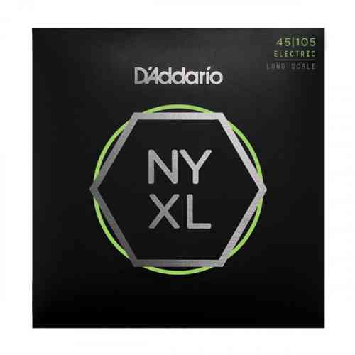 D`Addario NYXL45105 Bass, Light Top / Med Bottom