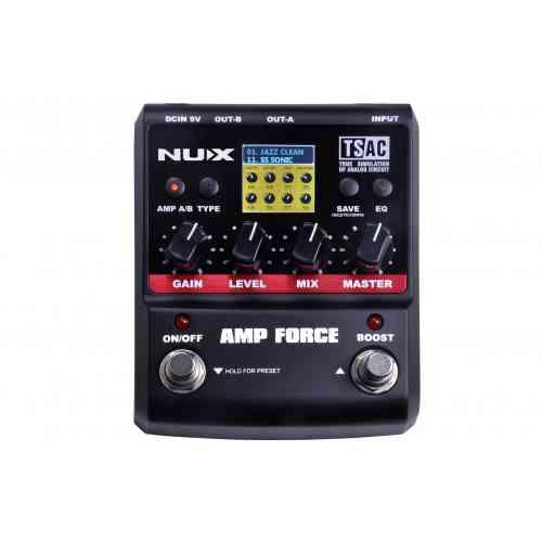 NU-X AMP FORCE - Modeling Amp Simulator