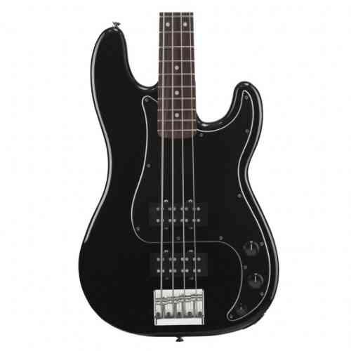 Бас-гитара Fender BLACKTOP PRECISION BASS (RW) BLK #1 - фото 1
