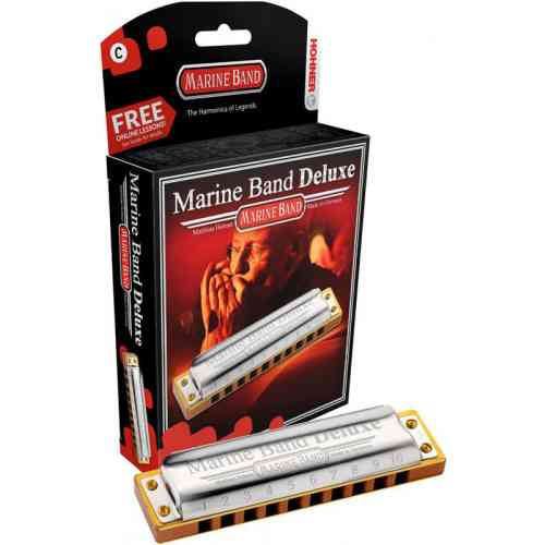 Hohner Marine Band Deluxe 2005/20 F (M200506X)