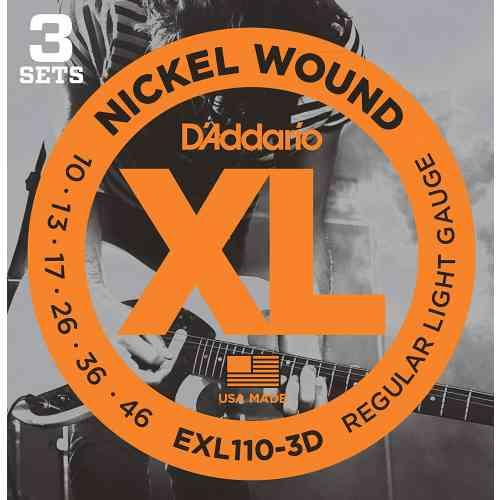 D`Addario EXL110/3D