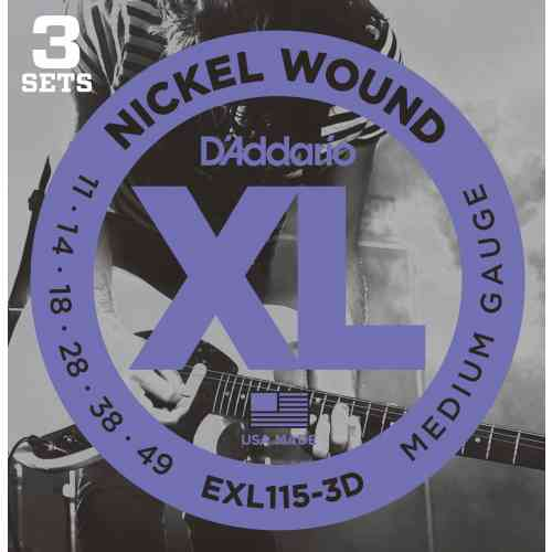 D`Addario EXL115/3D