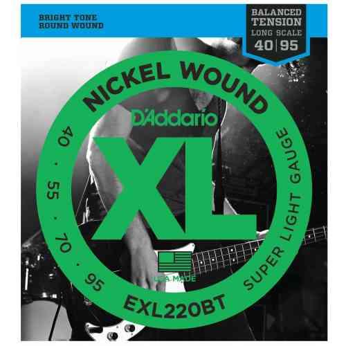 D`Addario EXL220BT