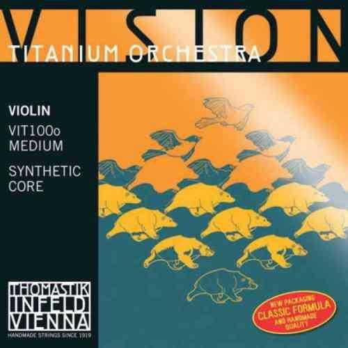 Thomastik Vision Titanium Orchestra (VIT100O) 4/4