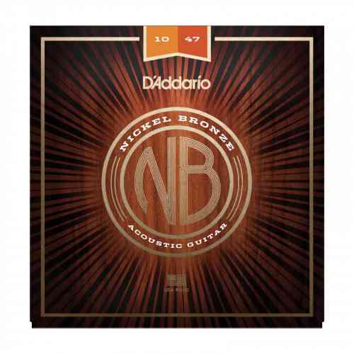 D`Addario NB1047 Nickel Bronze Acoustic, Extra Light
