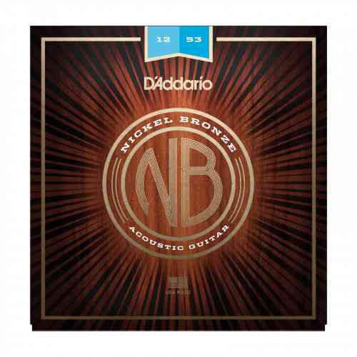 D`Addario NB1253 - Set Nickel Bronze Acoustic, Light