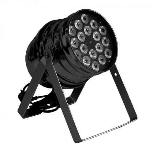Involight LED PAR189 BK