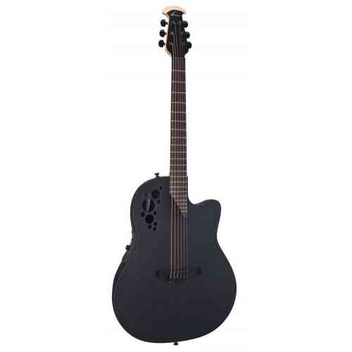 Ovation 1778TX-5 Elite TX Mid Cutaway Black Textured