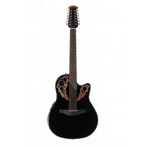 Ovation CE4412-5 Celebrity Elite Mid Cutaway Black