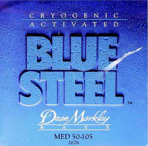 Dean Markley 2676 Blue Steel Bass
