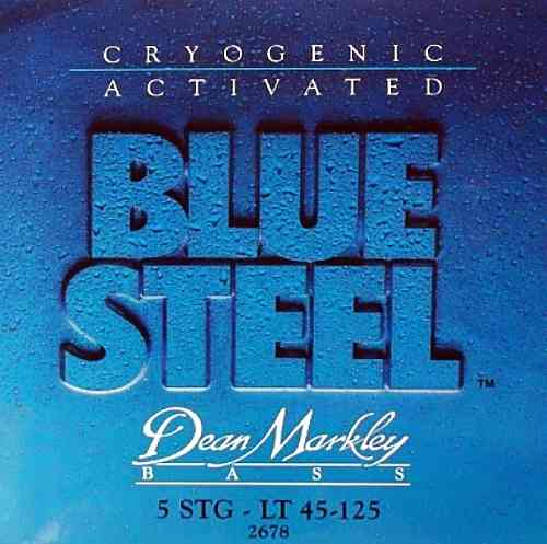 Dean Markley 2678 Blue Steel Bass LT-5