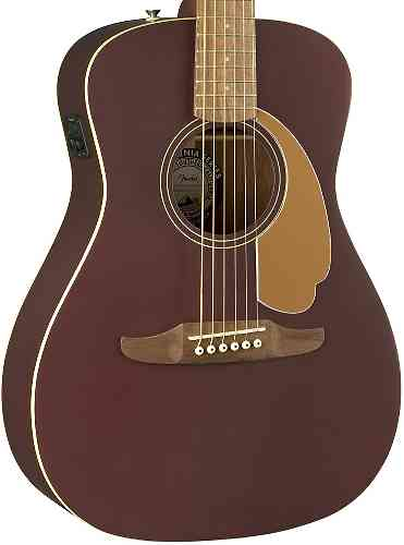 Fender Malibu Plyr Burgundy Satin WN
