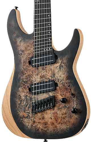 Schecter REAPER-7 MS SATIN CHARCOAL BURST (SCB)