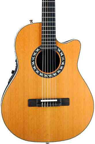 Ovation 1773AX-4 Legend Classical/Nylon Mid Cutaway Natural