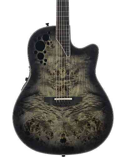 Ovation C2078AXP2-PB Exotic Elite Deep Bowl Cutaway Poplar Burl