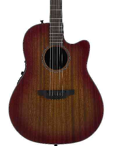 Ovation 2771STR-MB Main Street Balladeer Mahogany Satin Burst