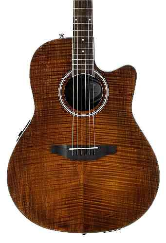 Ovation APPLAUSE AB24IIP-VF Balladeer Mid Cutaway Vintage on Flame