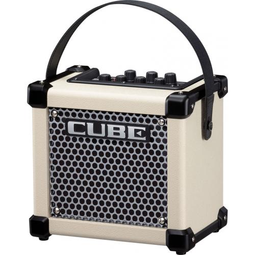 Портативный комбо и усилитель для наушников Roland MICRO CUBE GX White #1 - фото 1