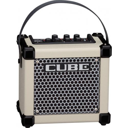 Портативный комбо и усилитель для наушников Roland MICRO CUBE GX White #2 - фото 2
