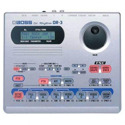 Драм-машина Boss DR-3 #2 - фото 2