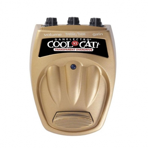 Педаль для электрогитары Danelectro CTO2 Cool Cat Transparent Overdrive V2 #1 - фото 1