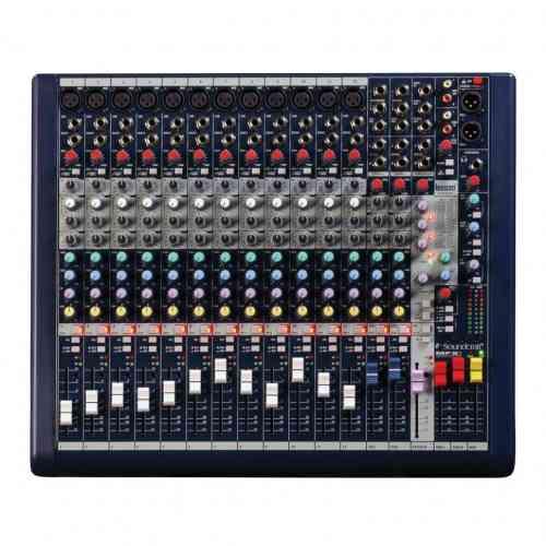 Аналоговый микшерный пульт Soundcraft MFX12i #3 - фото 3