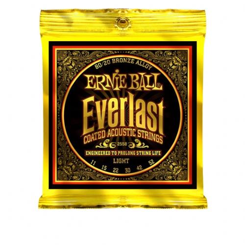 Струны для акустической гитары Ernie Ball 2558 #1 - фото 1