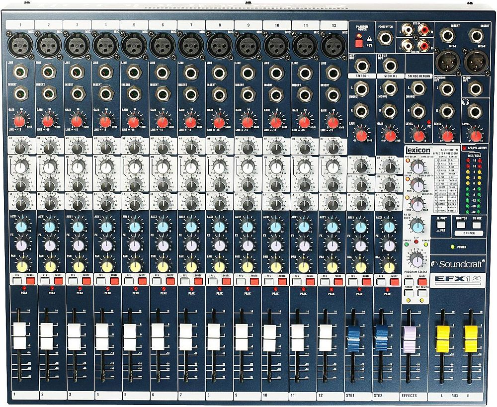 Soundcraft EFX12 - фото 1