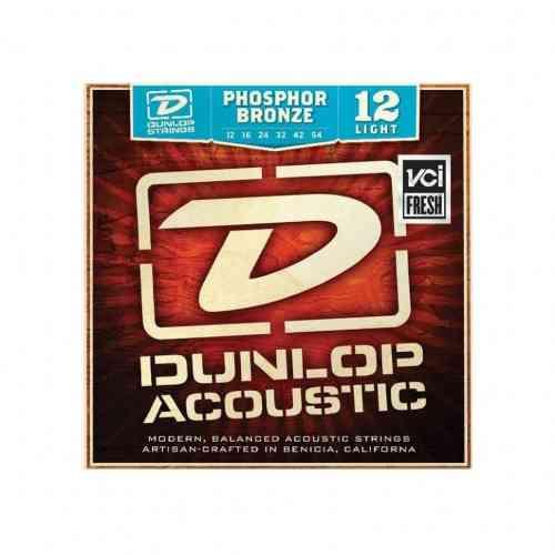 Dunlop DAP Phosphor Bronze Light 12-54