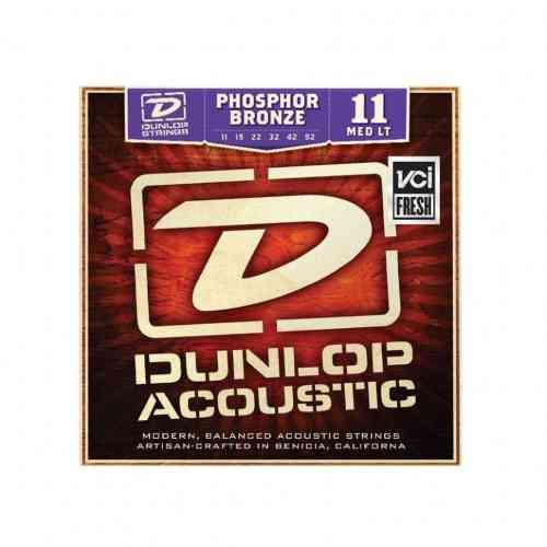 DUNLOP DAP Phosphor bronze Medium Light 11-52