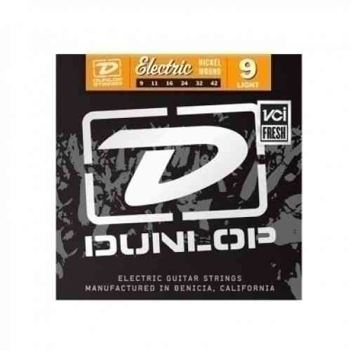 DUNLOP DEN Nickel Plated Steel 09-42